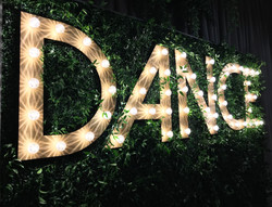Dance Marquee Sign by Brightly