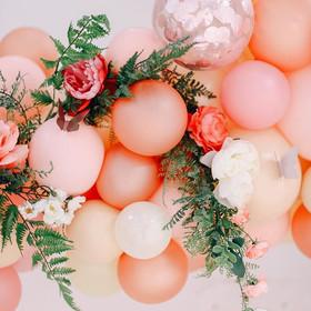 Custom Florals for Balloon Installations
