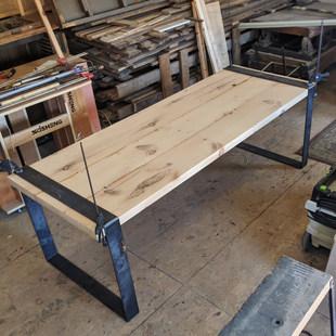 Hemlock Farm Table - Process