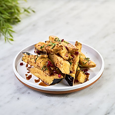 Spiced Eggplant Chips