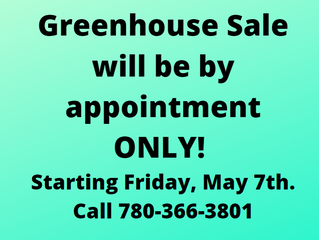 Greenhouse Sale Changes