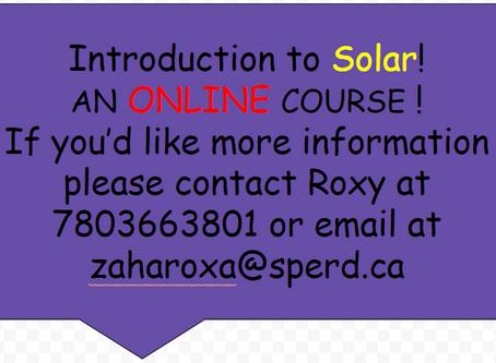 Online Solar Course