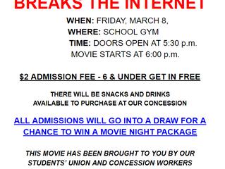 March 8th Movie Night