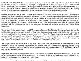 Update on CTEC