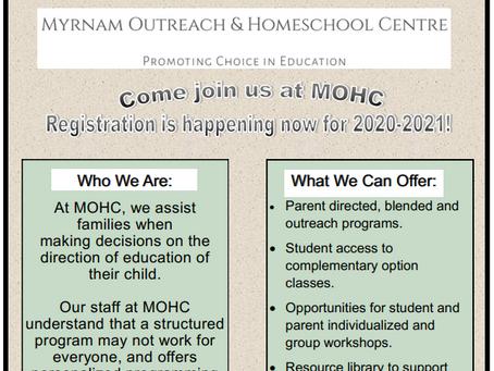 MOHC Registration