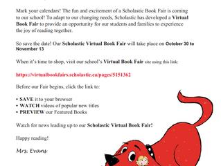 Virtual Book Fair Coming SOON