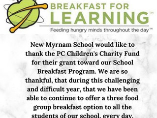 Thank You Breakfast for Learning