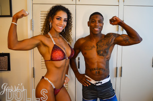 Organic Competition Spray Tan - Julie & Jerome