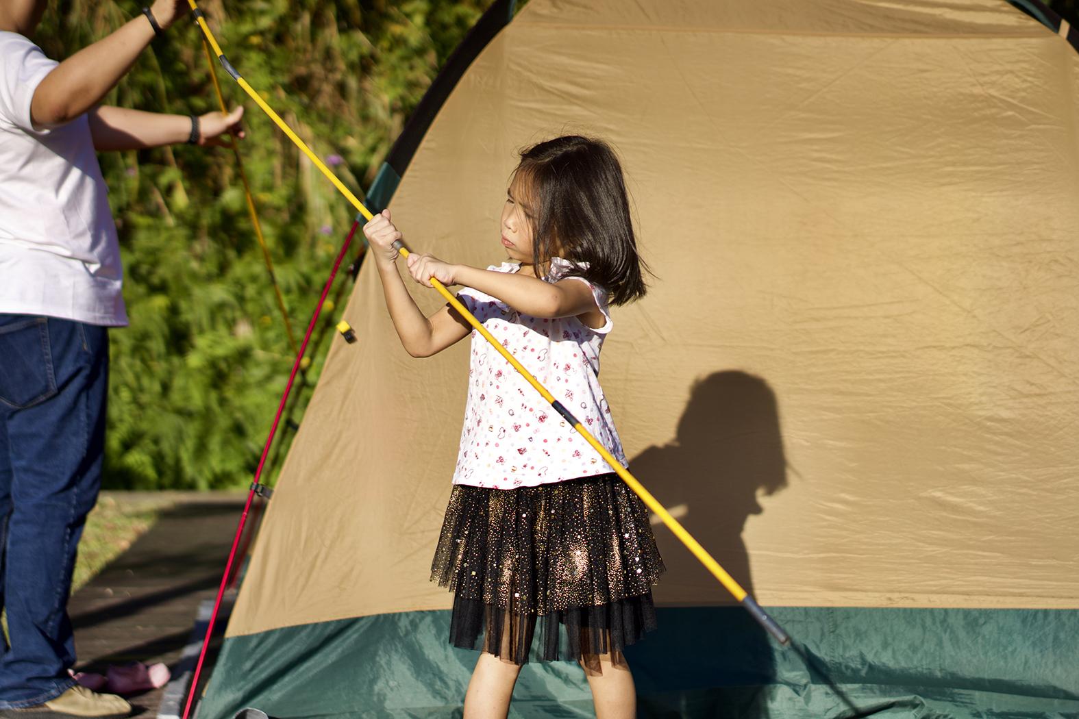 親子露營活動