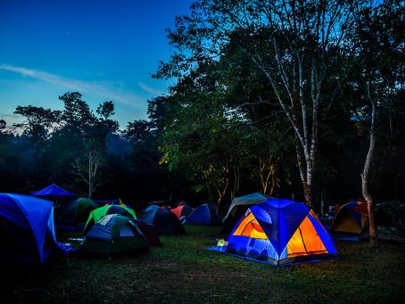 媽媽,露營是我的一個小夢想!