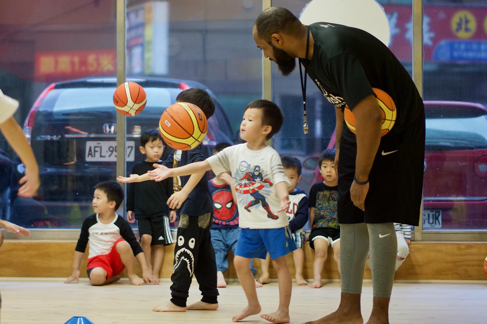 籃球X英文X創意營隊