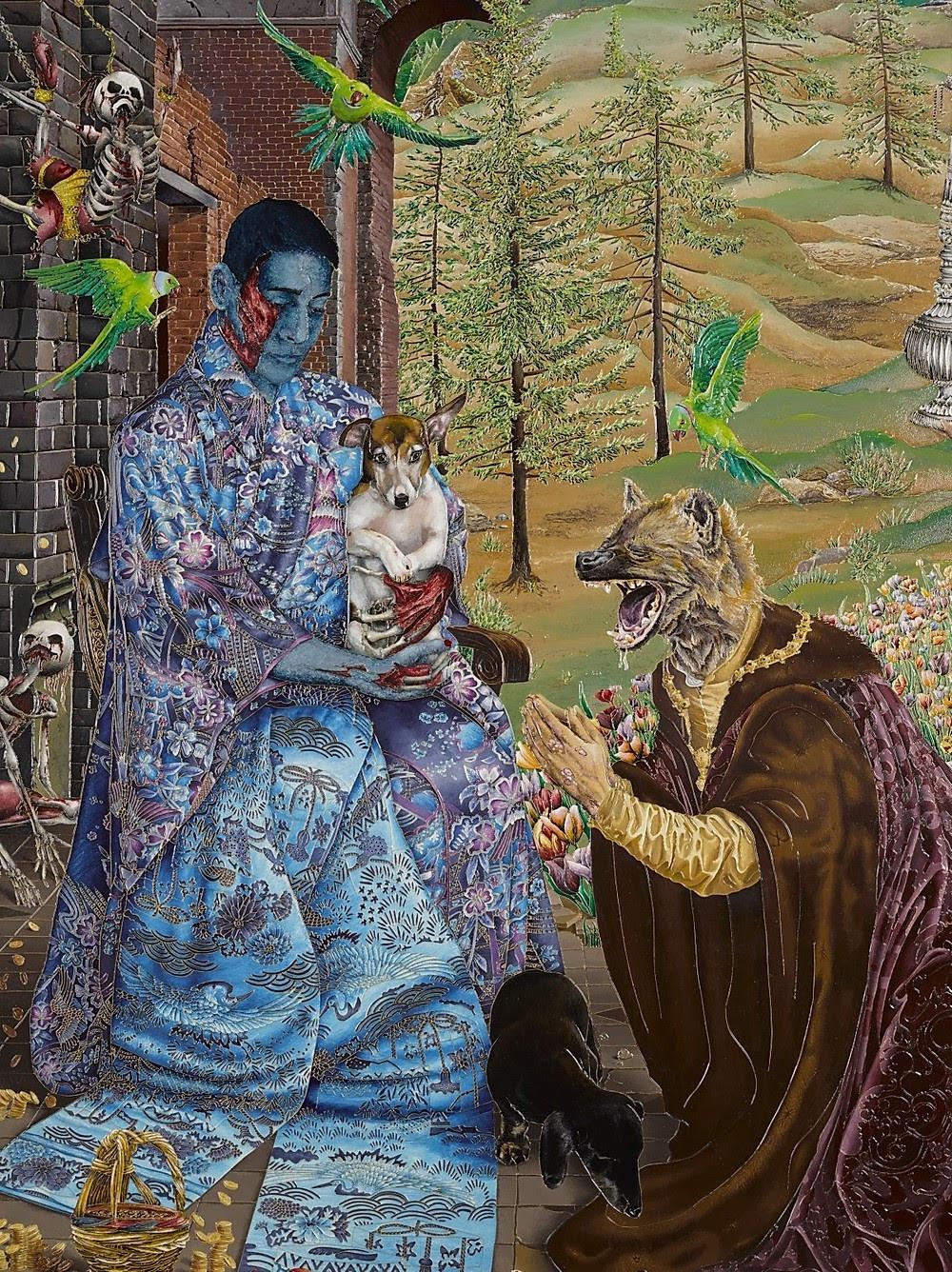 Raqib Shaw, 'The Adoration (After Jan Gossaert)', 2016