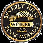 BeverlyHillsBookAwardWinnerStickerTransF