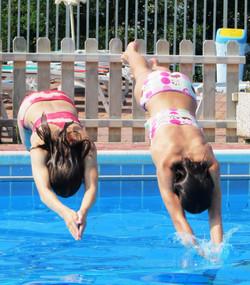 In piscina a Montemarzino