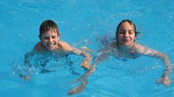 divertimento nell'acqua
