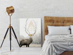 Deer_xmas_Poster