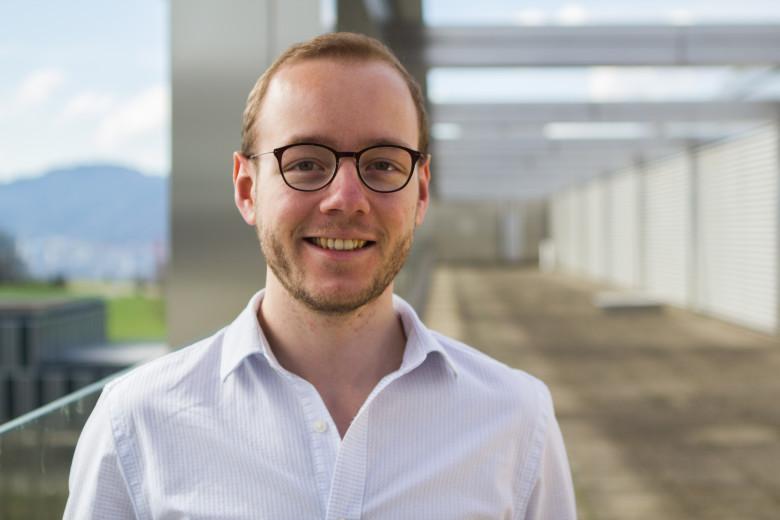 Hemotune CEO Lukas Langenegger.