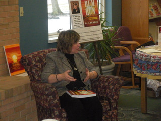Fireside Chat at Avon Lake Library