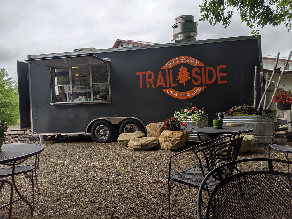 food truck along the Gateway Trail