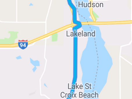 Lots of biking leads to a Louisiana Waterthrush