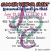 Come buy some B.O.S.S LIFE APPAREL June 23rd. Youth for Christ Ministries will have many vendors and