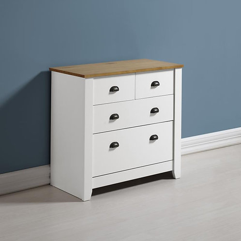 Seconique Ludlow 4 Chest of Drawers