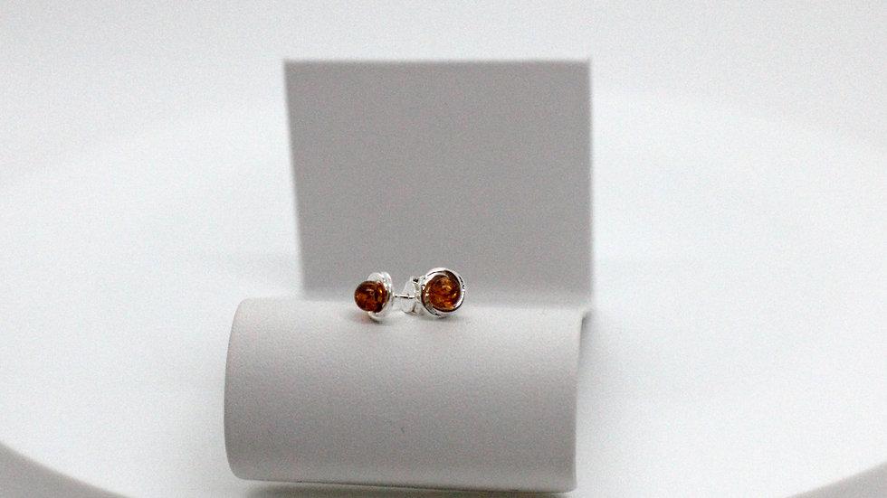 Silver Knot Earrings Set