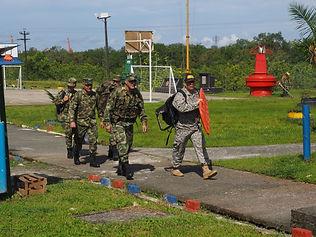 Reentrenamiento en Isla Naval