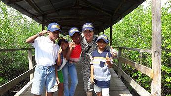 Grupo GEOS de RNP se estrena en Bahía Cupica