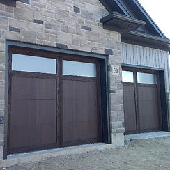 CHI Walnut overlay residential garage do