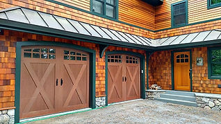 canyon ridge clopay new garage door inst