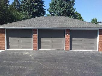 Clopay classic bronze garage door.jpeg