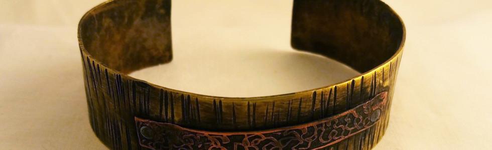 Brass & Copper Cuff