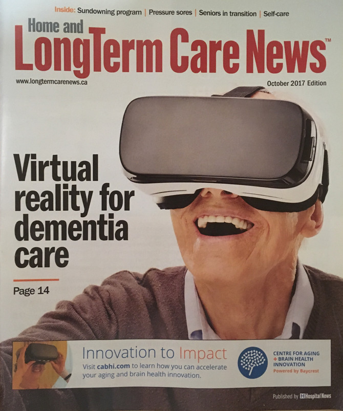 VRx article in Long Term Care News