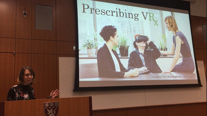 VRx presents @ Harvard Medical School