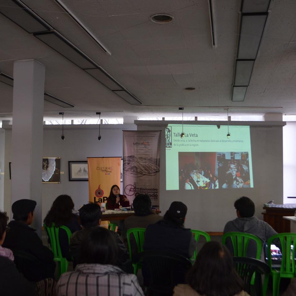 Encuentro Internacional de Grabado en La Paz,Bolivia