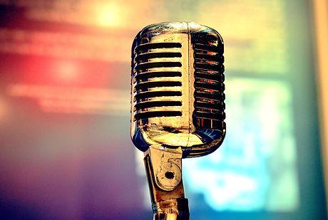 Retro Microphone On Stage.jpg