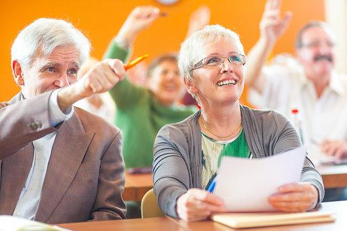 Atelier-formation pour préparer sa retraite