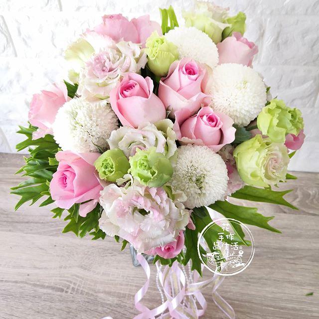 要幸福哦!  #新娘捧花  #花束  #客制花禮