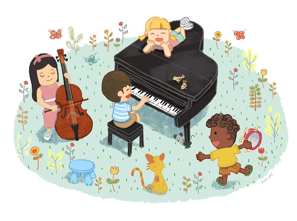 Cello Piano Play