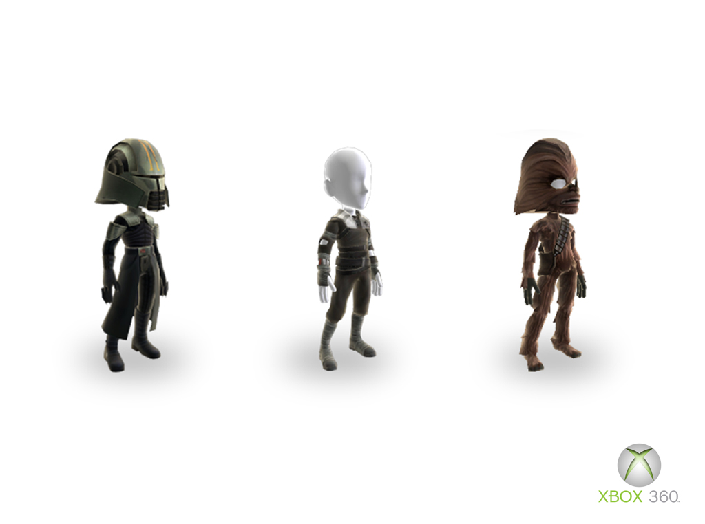 Xbox Star Wars Avatars