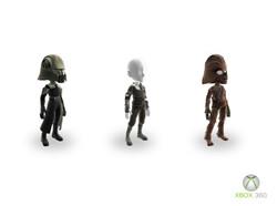Xbox Star Wars Avatars