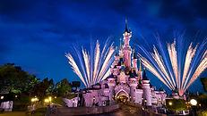 Chateau Disneyland Paris disney illumination