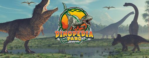 DINOPEDIA, le plus grand parc à Dinosaures de France ouvre ses portes !