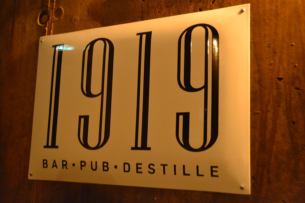 Bar 1919 - Rookburgh - Phantasialand - Hôtel Charles Lindbergh