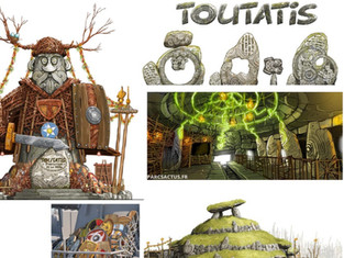 Parc Astérix 2023 : Toutatis, multi-launch coaster