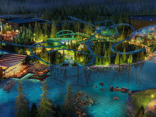 London Resort 2024 : Base Camp, un land peuplé de dinosaures & deux montagnes russes