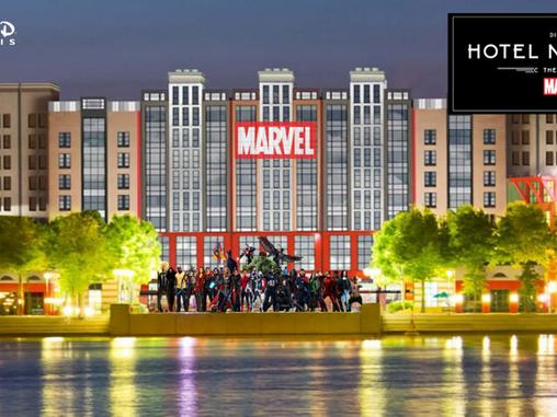 Disneyland Paris 2021 : Disney's Hotel New York-The Art of Marvel