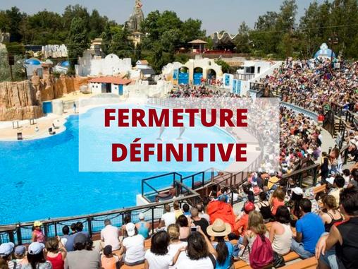 Bonne nouvelle ?! : Le Parc Astérix ferme définitivement son delphinium.