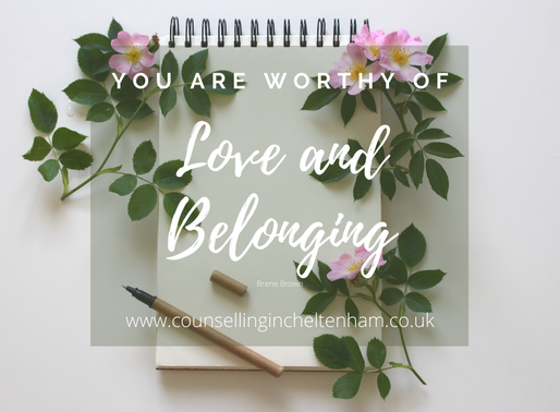 Hope, Love and Belonging; what's it like to have counselling?